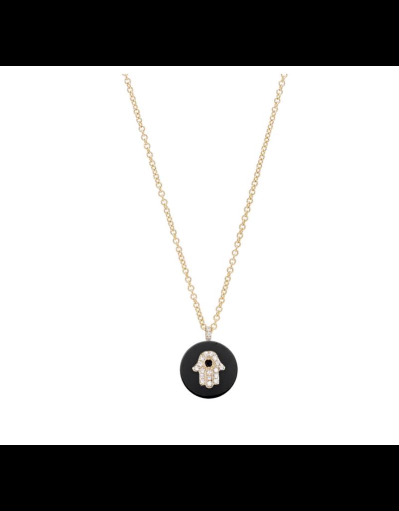 Noush Star of David on Lapis Necklace