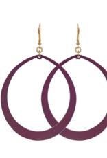We Dream In Colour Malbec Meli Earrings