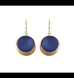 Navy Kana Earrings