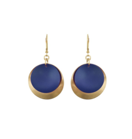 We Dream In Colour Navy Kana Earrings