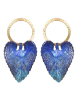 We Dream In Colour Wild Violet Earrings