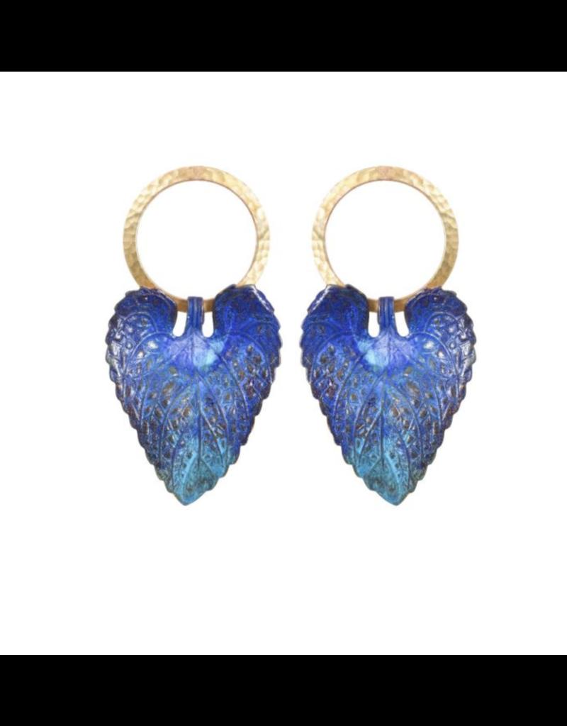 We Dream In Colour Wild Violet Earrings