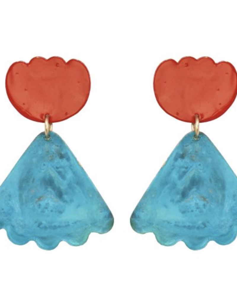 We Dream In Colour Poppy Athalia Earrings