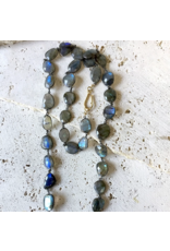 Robindra Unsworth Labradorite Statement Necklace
