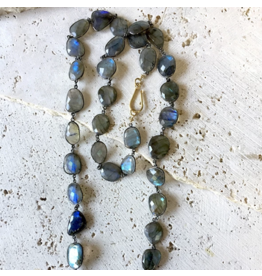 Labradorite Statement Necklace