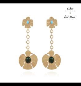 Gas Bijoux Santa Love Earrings