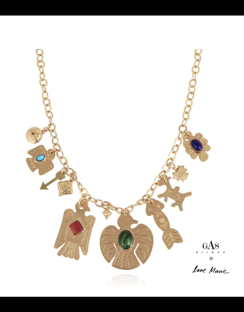 Gas Bijoux Santa Love Necklace
