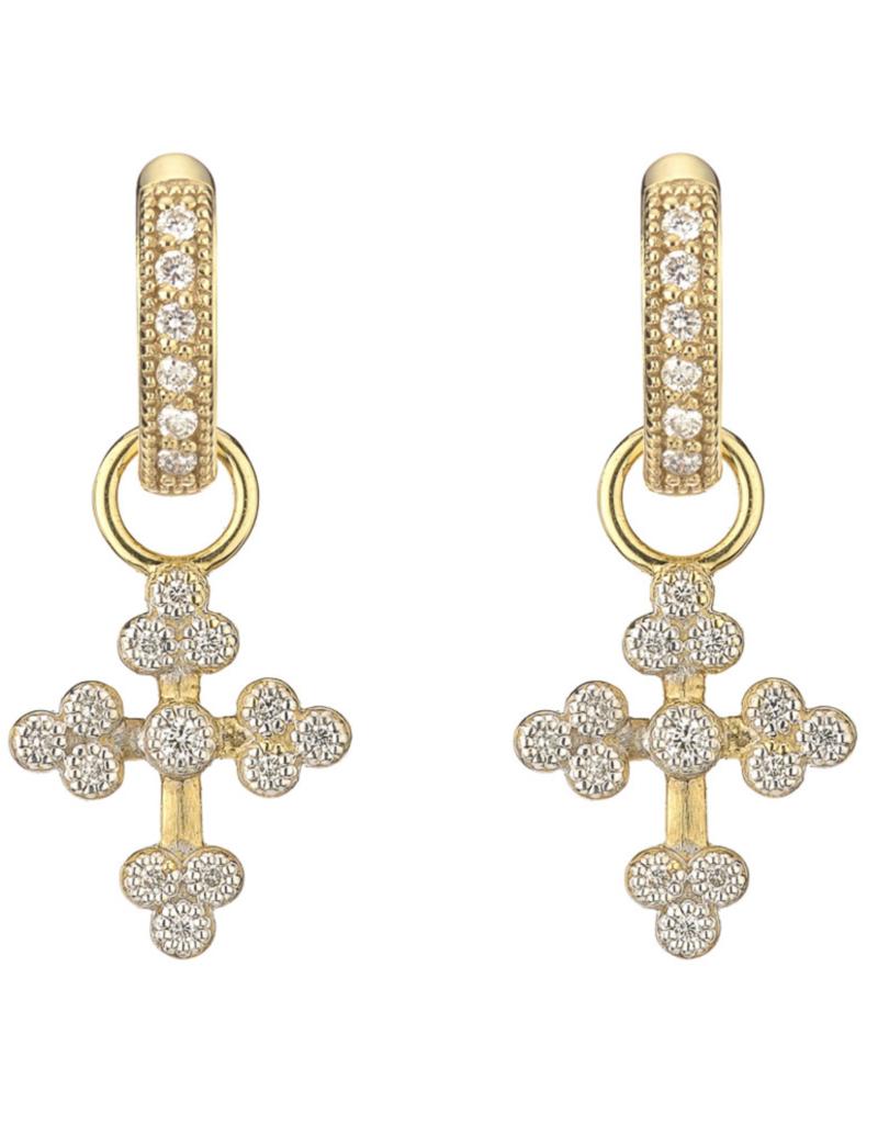 Jude Frances Tiny Provence Cross Charms
