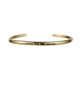 Organic 3 Diamond Bracelet