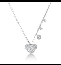 .33 Diamond Heart Necklace