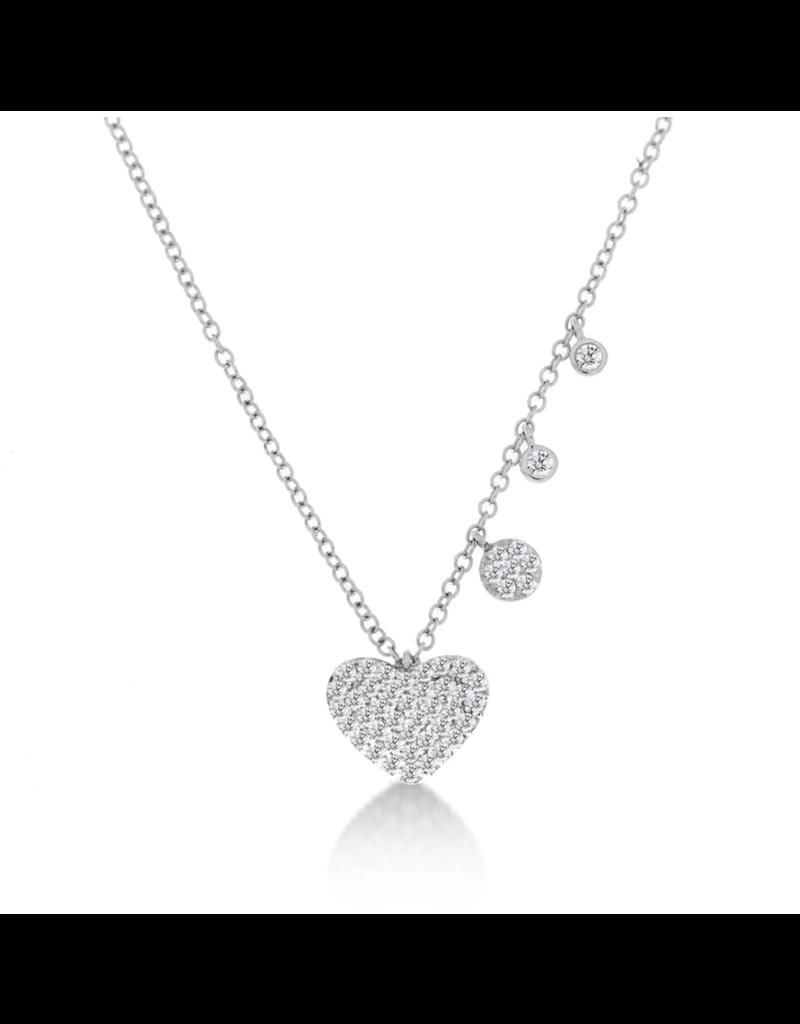 Meira T .33 Diamond Heart Necklace