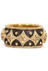 Armenta Old World Diamond Wide Cravelli Ring