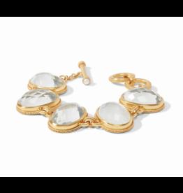 Calypso Bracelet Iridescent Clear Crystal