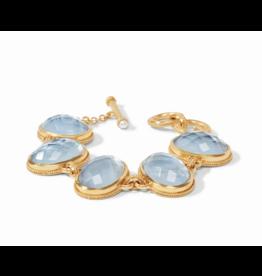 Calypso Bracelet Iridescent Chalcedony Blue