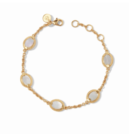 Julie Vos Calypso Delicate Bracelet Mother of Pearl