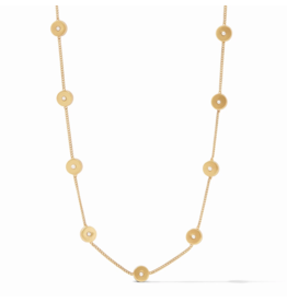 Julie Vos Poppy Delicate Station Necklace