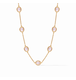 Julie Vos Calypso Delicate Necklace Rose