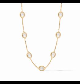 Calypso Delicate Necklace Clear Crystal