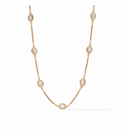 Julie Vos Calypso Demi Delicate Necklace Rose