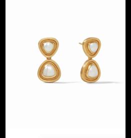 Julie Vos Barcelona Midi Earring Pearl