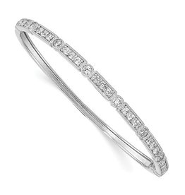 Stacking Hinged Bangle