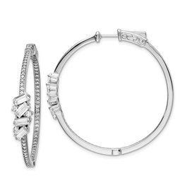 Pave & Baguette and Detail Hoops