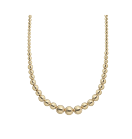 Baller Gold Graduated Necklace
