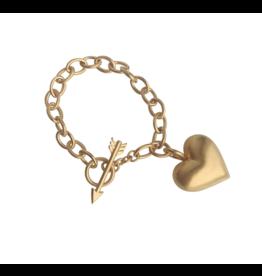 Rachel Quinn Cupid's Heart Bracelet