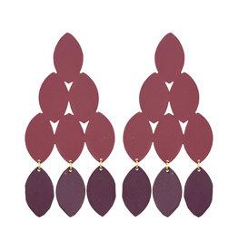 Wine Kiketta Earrings
