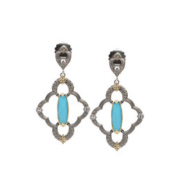 Dulcinea Small Turquoise Earrings
