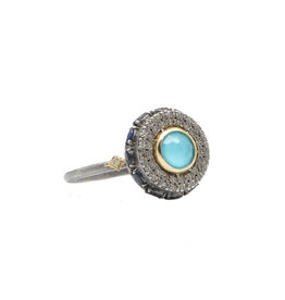Old World Turquoise Ring