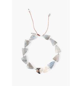 Labradorite Mix Starcut Pull-Tie Bracelet