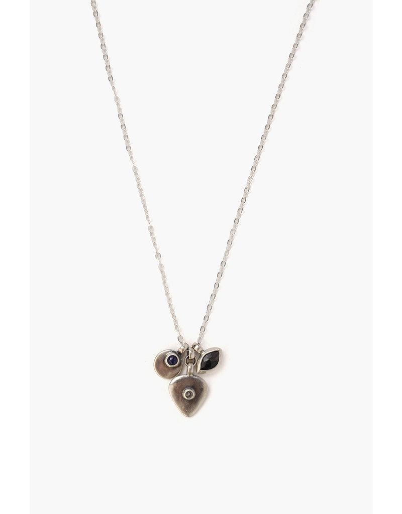 Lapis Charm Mix Necklace