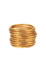 Gold Bangles Medium (9 Pack)