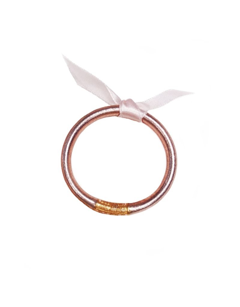 Rose Gold Single Bangle Small For Babies