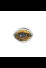 Protective Eye Talisman Signet Ring Size 7
