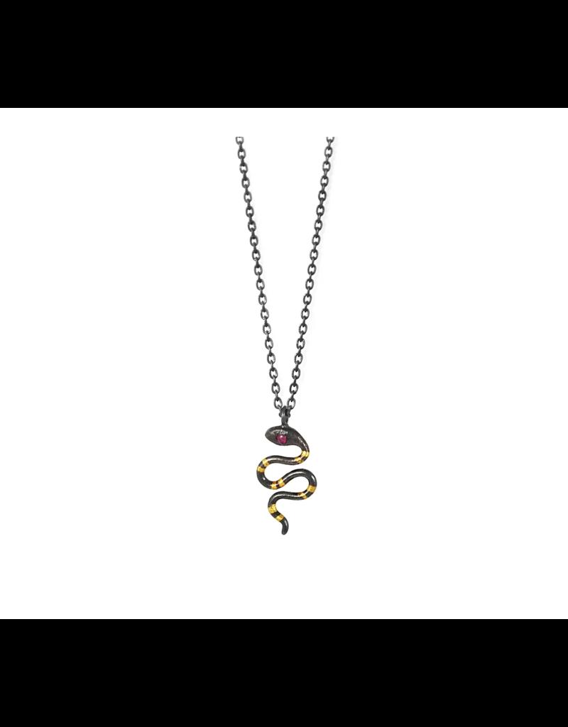 Tiny Snake Pendant-6