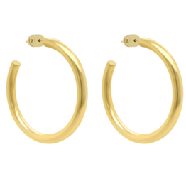Dune Hoop Small Gold