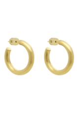 Mini Dune Hoops Yellow