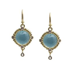 Armenta Old World Turquoise Doublet Earrings