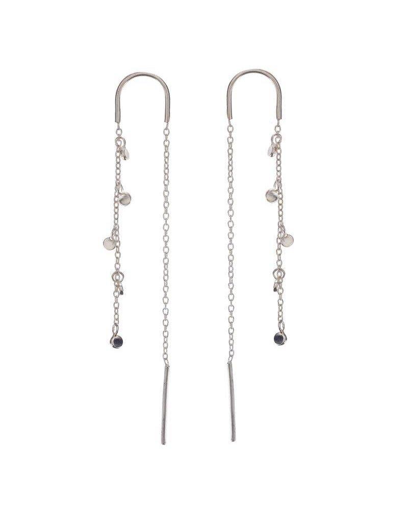 Scosha Scosha- Fairy Bead Thread Earrings