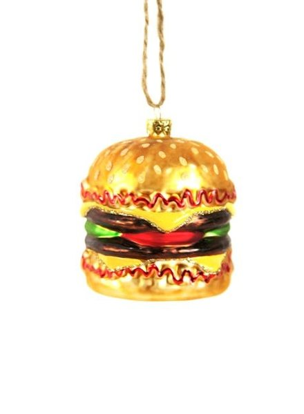 Cody Foster Double Cheeseburger Ornament