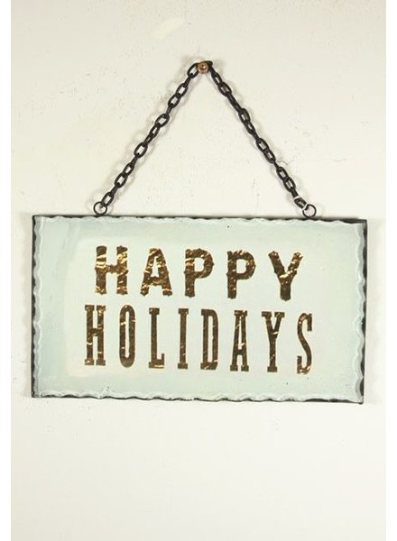Cody Foster Happy Holidays Sign