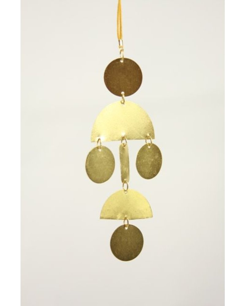 Cody Foster Hinged Shapes Ornament- Gold