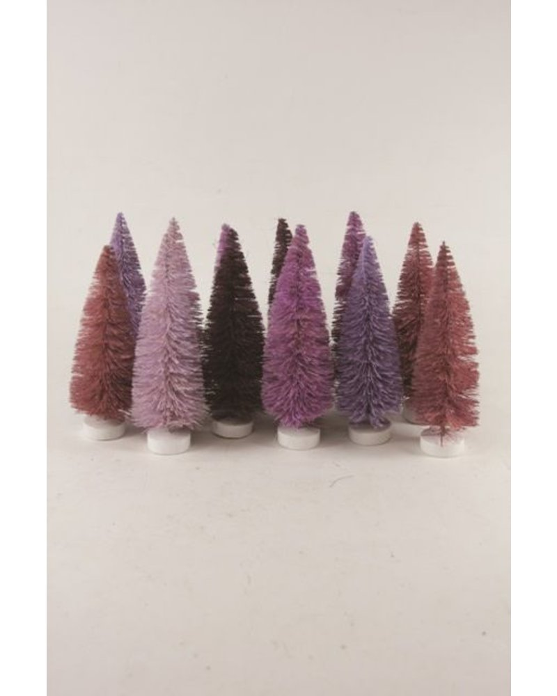 Cody Foster Purple Hued Trees- Set of 12