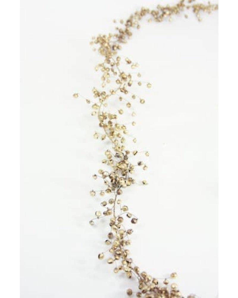 Jingle Garland- Gold, 6'