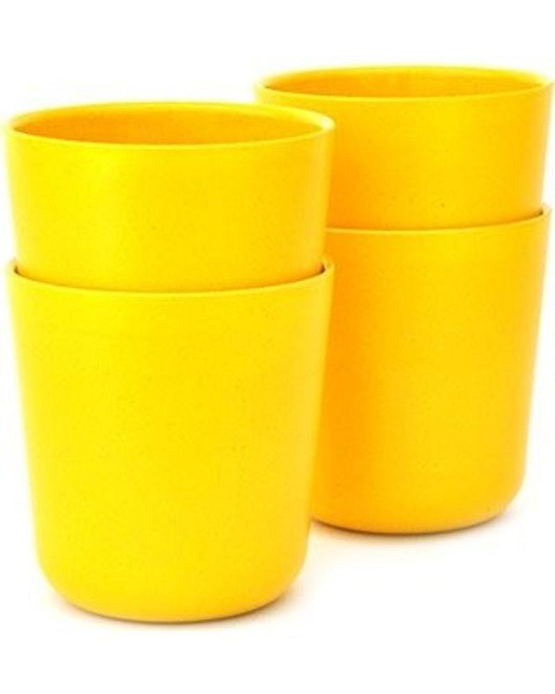 Ekobo Gusto 11oz Medium Cup, lemon