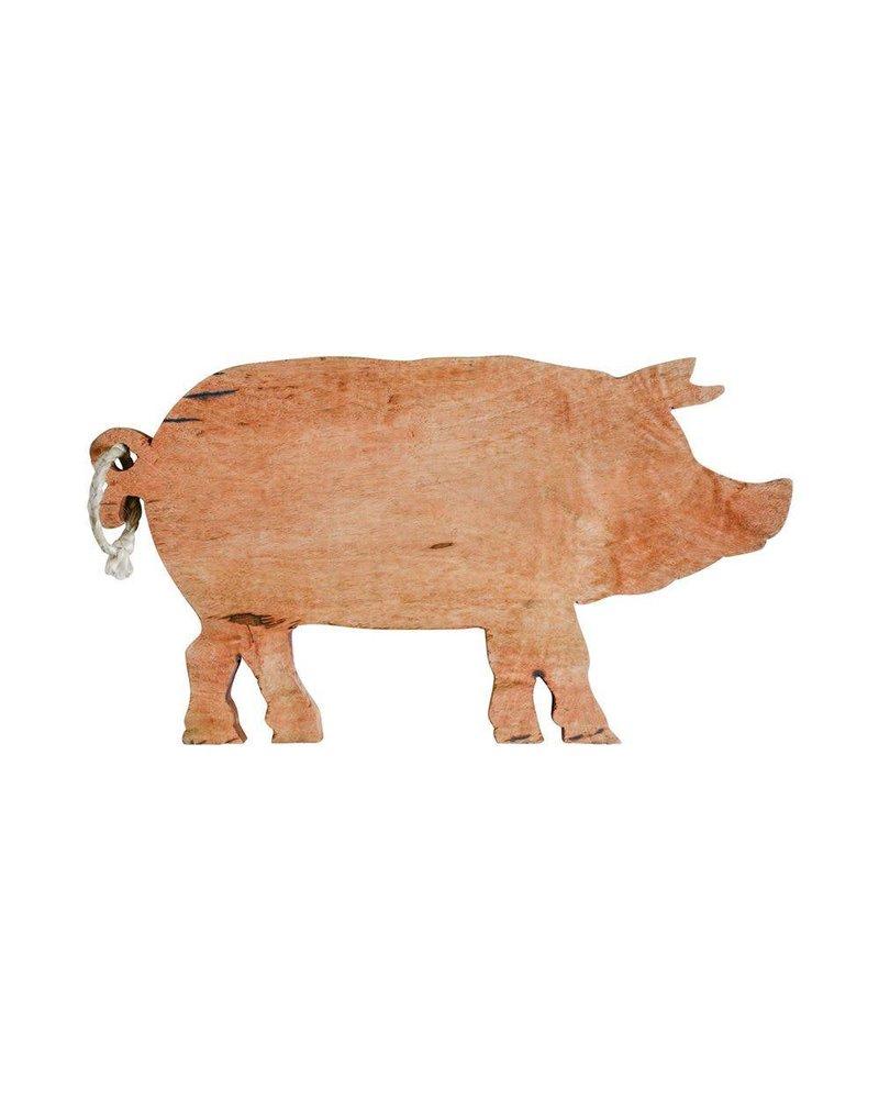 Creative Co-Op Pig Cutting Board