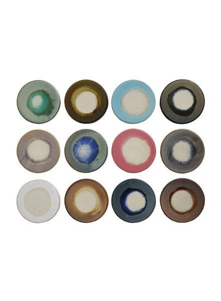 Creative Co-Op Set of 4 - Stoneware Glazed Trivets