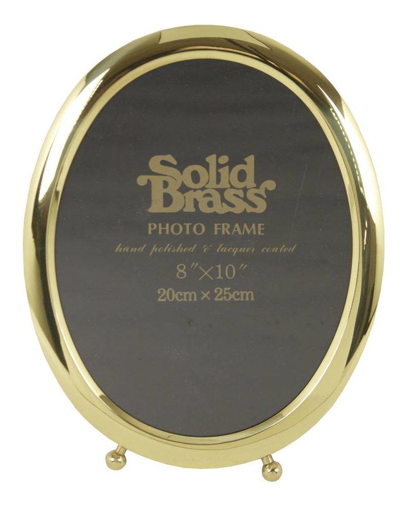 "Upper Deck Brass Classic Picture Frame- 8""x10"""